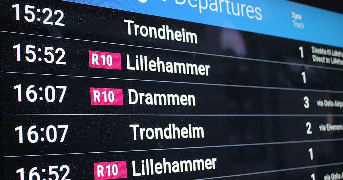 Togavganger fra Hamar