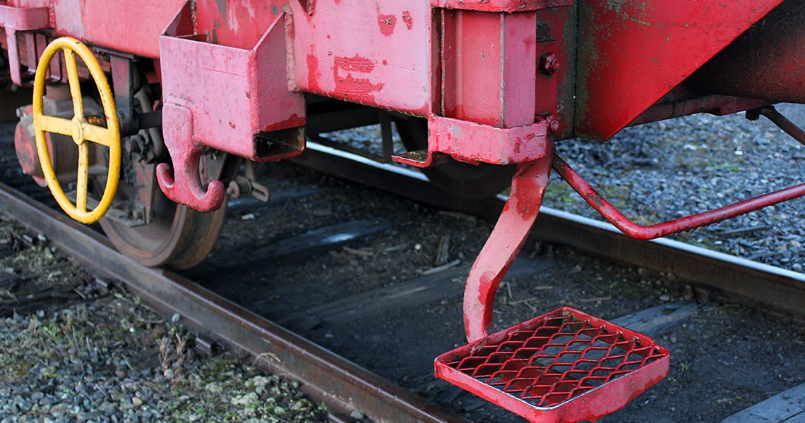Godsvogn for tog på Hamar