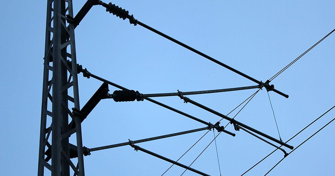 Strømkabler for tog